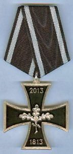 Very rare IC version 200 years Iron Cross 1813 - 2013