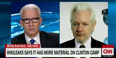 """VIDEO: Julian Assange Confirms WikiLeaks Has More Information About Hillary Clinton #DNCLeak """"We have more material related to the…"""