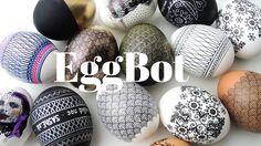 Eggbot + Spherebot Ako maľujú kraslice programátori [Arduino]