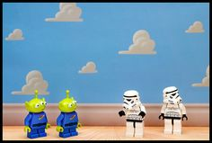 Lego funny minifigures Uh-oh, Wrong Room. star wars lego and toy story