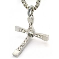Amazon.com: Dominic Toretto Cross Necklace Inspired By Fast & Furious 6: Jewelry Armoires: Jewelry