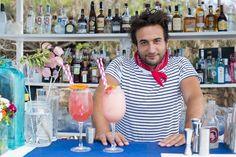 Meet the mixologist: Inko Garat, Experimental Beach Ibiza - White Ibiza. Photography by Sofia Gomez Fonzo