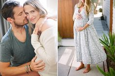 Lifestyle maternity photos by Erin Hearts Court | 100 Layer Cakelet