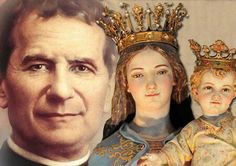 Maria Auciliadora y Don Bosco