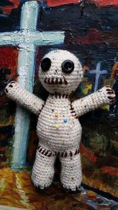 Amigurumi Voodoo Puppe - Häkelanleitung