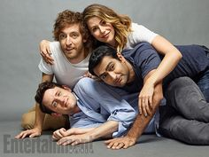 Comic-Con 2016 Star Portraits: Day 1 | Zach Woods, Thomas Middleditch, Amanda Crew, Kumail Nanjiani, 'Silicon Valley' | EW.com
