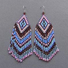 seed bead earrings - Google Search