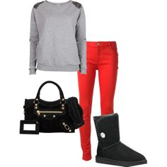 """Cozy Fall"" by shoescentral541 on Polyvore"