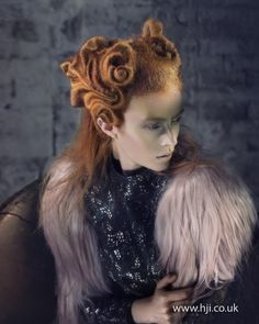 Avant garde hair by Indira Schauwecker. BHA Avant Garde Hairdresser of the Year 2011.