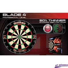 Darts board Winmau Blade IV - Tinte darts - Tinte darts clasice