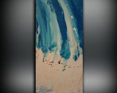 THIS EXACT PAINTING IS SOLD You can purchase a custom order for a similar piece by purchasing here. Your painting will be created very similar in the same style, color and size. After you order, I will start to create your painting. Each painting is original and individual but my customers loving their painting is my number priority! I dream of painting and then I paint my dream -Vincent van Gogh  As an artist I paint by feeling until the painting is an expression of myself. I gather…