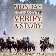 Need a #genealogy starting place? Pick a family story or legend and see if you can verify it. In my experience most family stories are based in fact even if the whole truth gets skewed over the years.