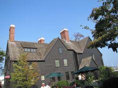 The House of Seven Gables, Salem, Massachusetts.