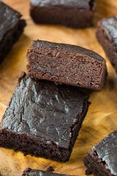 Easy Vegan Brownies made with avocado, coconut sugar, coconut milk, and coconut oil. This brownie recipe will completely blow you away.