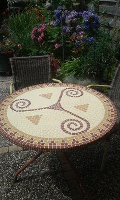 Mosaics table