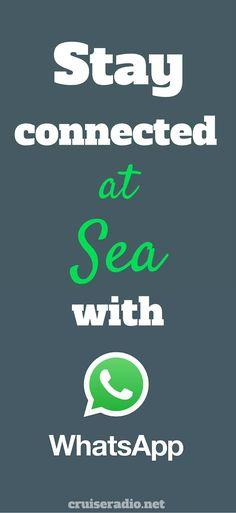 WhatsApp #cruise #travel #wifi #internet #traveltips #whatsapp #cruising