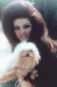 Priscilla Presley under hair,1960's -1970's.