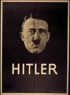 Hitler Poster for the Elections of 1932 in Germany