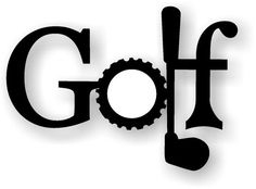 Golf - Metal Art - Wall Decor - In or Out Door on Etsy, $14.95