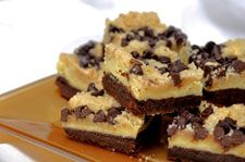 Cheesecake Streusel Brownies - This recipe comes from Priscilla Yee of Concord, California.