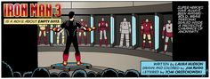 Review of Iron Man 3 in comic book form. Spoiler Alerts!