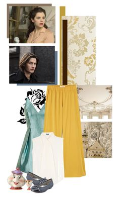 """book classics with a modern twist: beauty and the beast: Gabrielle-Suzanne Barbot de Villeneuve: Belle"" by redheadlass ❤ liked on Polyvore featuring Topshop, MANGO, Jil Sander Navy, Karen Scott, Disney and modern"