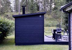 Outdoor Sauna, Outdoor Decor, Garage Doors, Cottage, Home Decor, Trendy Tree, Decoration Home, Room Decor, Cottages