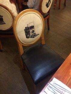 Upholstered dinning chair from Dekada Restaurant at Landmark Makati Makati, Dinning Chairs, Interior Architecture, Restaurant, Furniture, Home Decor, Dining Chairs, Architecture Interior Design, Decoration Home