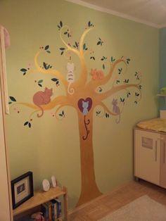 Katzen-Baum fürs Kinderzimmer *Iris Schorn