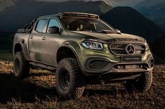 Carlex Design loves the Mercedes-Benz X-Class truck. The Polish firm offers a large array of custom parts and entire packages for everything from Maybach-themed yachting. Ford Ecosport, Car Ford, Mercedes Truck, Mercedes Benz, Trucks For Sale, Cool Trucks, Lambo Truck, Lamborghini Aventador For Sale, Honda Sports Car