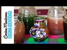 5 aguas frescas de fruta. Yuri de Gortari - YouTube