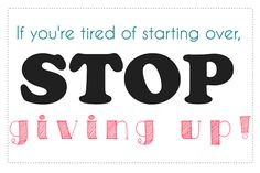 Thanks so much for stopping by for your FREE Weight Loss Motivation Printable! This is something I need to remind myself of every day. Way too many times I have given up on my weight loss journey and truth be told, it really stinks having to start over! So, may you and I find the...Read More »