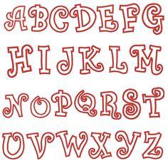 applique monogram 045 3 sizes 3 4 5 machine by mixedmetalblankscom bubble letter fonts bubble