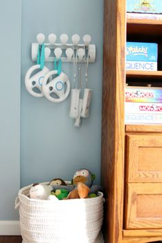 Great way to store Wii accessories