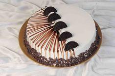 Cake Decorating Frosting, Cake Decorating Designs, Creative Cake Decorating, Cake Decorating Videos, Birthday Cake Decorating, Creative Cakes, Oreo Cake, Cake Icing, Cupcakes