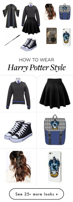 """Ravenclaw: Potions Lesson"" by scarlett-foxe on Polyvore featuring Suzywan DELUXE, women's clothing, women's fashion, women, female, woman, misses and juniors"