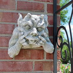 Draw Creatures Design Toscano Exclusive Gnash The Grotesque Gargoyle Wall Sculpture Sculptures For Sale, Wall Sculptures, Lion Sculpture, Gothic Gargoyles, Stone Facade, Eagle Design, Animal Statues, Outdoor Sculpture, Gothic Architecture