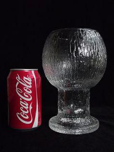 "Iittala ""Kekkerit"" textured glass vase. Designed by Timo Sarpaneva _ photo taken by Daniel/Art of Glass, on Flickr Art Of Glass, Glass Vase, Glass Texture, Home Accessories, Design, Home Decor Accessories"