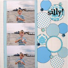 great for boy layout 3 photos