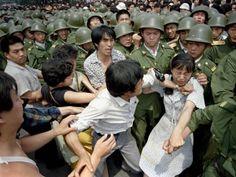 El 3 de junio la orden de 'sofocar las revueltas contrarrevolucionadas fue dada y esa noche la televisión estatal advertía a los ciudadanos que permanecieran en sus hogares.