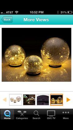 Outdoor spheres, QVC, Valerie Parr Hill