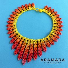 Your place to buy and sell all things handmade Seed Bead Jewelry, Seed Beads, Beaded Jewelry, Handmade Beads, Handmade Jewelry, Colar Boho, Beadwork Designs, Mexican Jewelry, Textile Jewelry