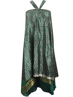 Wrapskirts Green Vintage Silk Sari Reversible Green Wrap Around Skirt for Womens Mogul Interior http://www.amazon.com/dp/B013I4O42E/ref=cm_sw_r_pi_dp_LsrXvb04PNA8F