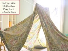 Ways to make tent (DIY tents). Making play tent for kids in 15 different ways with tutorial to help you. Great reading space for kids in summer and indoor