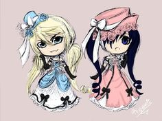 CROSDRESSING!!!!!!!!!!Whats funny is I like Sebastian,and Ciel. My friend on the other hand likes almost every one else...