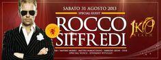 SPECIAL GUEST ROCCO SIFFREDI – JKO BEACH – CAGLIARI – SABATO 31 AGOSTO 2013