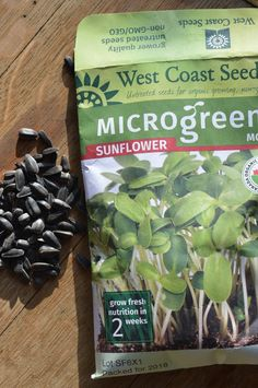 Grow Sunflower Sprouts in Just 12 Days for Nutritious Microgreens Growing Sprouts, Growing Microgreens, Fresco, How To Make Sunflower, Clover Plant, Black Oil Sunflower Seeds, Growing Sunflowers, Grow Organic, Organic Vegetables