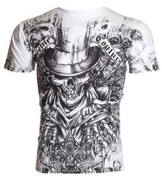 This will speed up process and ensure proper crediting. Affliction Clothing, Affliction Men, Shirt Print Design, Shirt Designs, Ufc, Mma Shirts, Types Of T Shirts, Winter Outfits Men, Winter Clothes