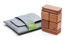 7 great road trip toys: Tegu blocks travel pouch