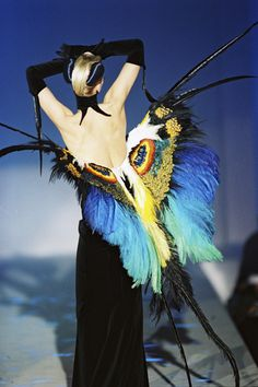 The Bowes Museum, County Durham. Birds of Paradise - Plumes & Feathers In Fashion.  25 October 2014 - 19 April 2015